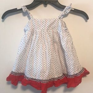 Baby gap sz 12-18 months 4th of July dress